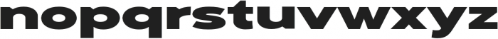 Adlinnaka Ultra Ultra otf (900) Font LOWERCASE