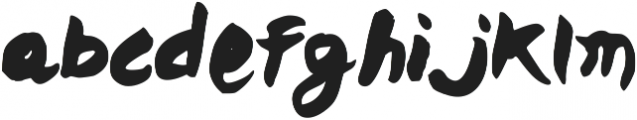 Admixes otf (400) Font LOWERCASE