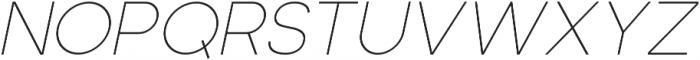 Adolfine otf (100) Font UPPERCASE