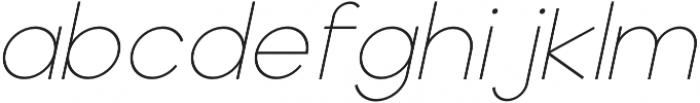 Adolfine otf (100) Font LOWERCASE