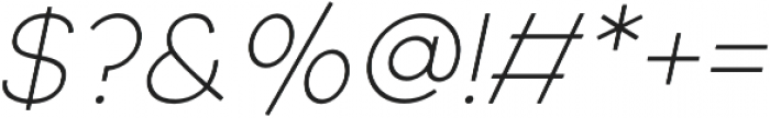 Adolfine otf (400) Font OTHER CHARS