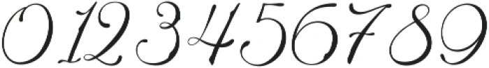 Adonessia otf (400) Font OTHER CHARS