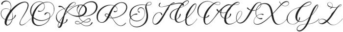 Adonessia otf (400) Font UPPERCASE