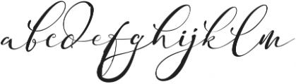 Adonessia otf (400) Font LOWERCASE