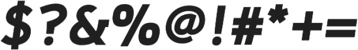 Adonide Bold Italic otf (700) Font OTHER CHARS