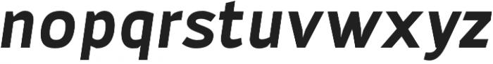 Adonide Bold Italic otf (700) Font LOWERCASE