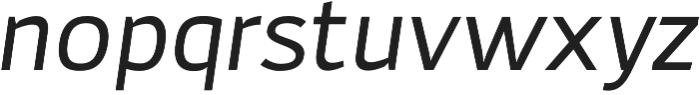 Adonide Italic otf (400) Font LOWERCASE