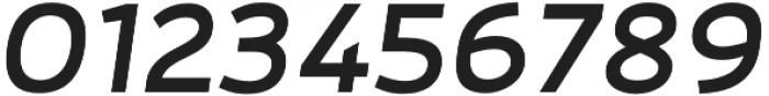 Adonide Medium Italic otf (500) Font OTHER CHARS