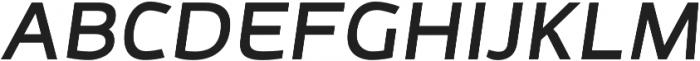 Adonide Medium Italic otf (500) Font UPPERCASE