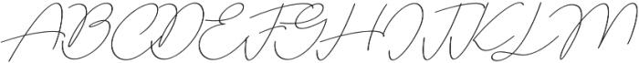 Adorable Line otf (400) Font UPPERCASE