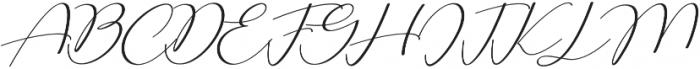 Adorable Pressure otf (400) Font UPPERCASE