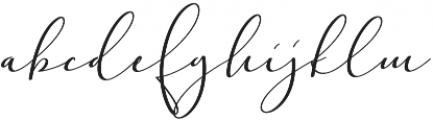 Adorable Pressure otf (400) Font LOWERCASE
