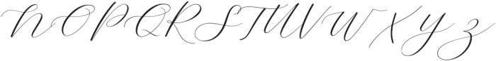 Adore Normal otf (400) Font UPPERCASE