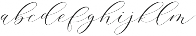 Adore Normal otf (400) Font LOWERCASE