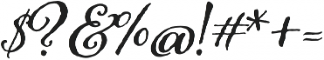 Adorn Bouquet otf (400) Font OTHER CHARS
