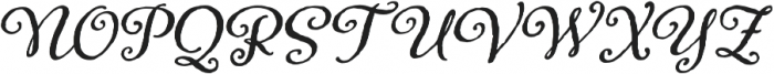 Adorn Bouquet otf (400) Font UPPERCASE