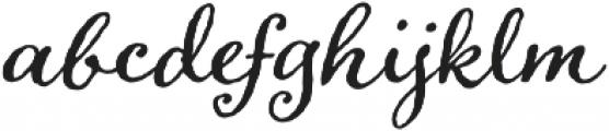 Adorn Bouquet otf (400) Font LOWERCASE