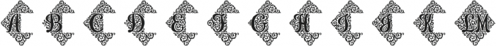 Adorn Duo otf (400) Font UPPERCASE