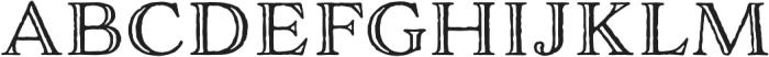 Adorn Engraved otf (400) Font UPPERCASE