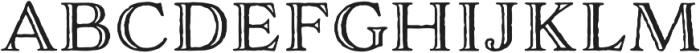 Adorn Engraved otf (400) Font LOWERCASE