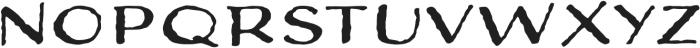 Adorn Expanded Sans otf (400) Font UPPERCASE