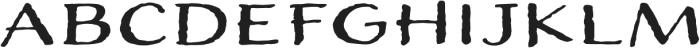 Adorn Expanded Sans otf (400) Font LOWERCASE