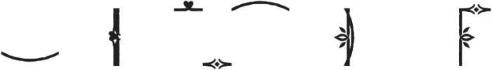 Adorn Frames otf (400) Font OTHER CHARS