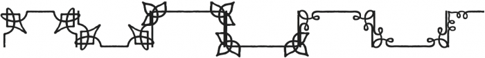 Adorn Frames otf (400) Font UPPERCASE