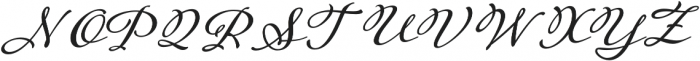 Adorn Garland Smooth otf (400) Font UPPERCASE