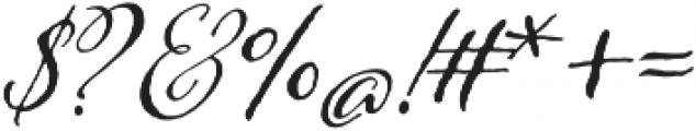 Adorn Pomander otf (400) Font OTHER CHARS
