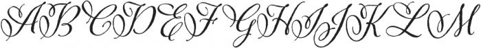 Adorn Pomander otf (400) Font UPPERCASE