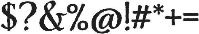 Adorn Roman otf (400) Font OTHER CHARS