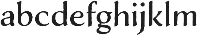 Adorn Roman otf (400) Font LOWERCASE