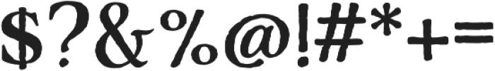 Adorn Serif otf (400) Font OTHER CHARS