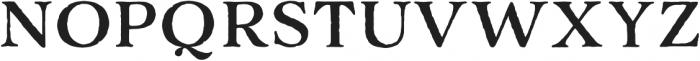 Adorn Serif otf (400) Font UPPERCASE