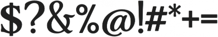 AdornS Serif otf (400) Font OTHER CHARS