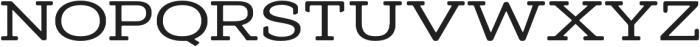 AdornS Slab Serif otf (400) Font UPPERCASE