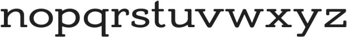 AdornS Slab Serif otf (400) Font LOWERCASE