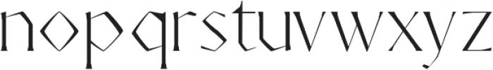 AdoulissMag Light ttf (300) Font LOWERCASE