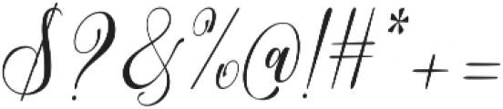 Adova Zombia Regular otf (400) Font OTHER CHARS