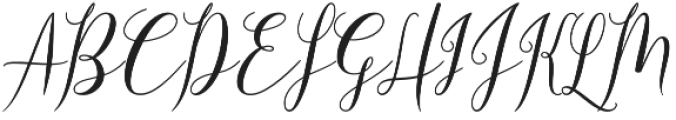 Adova Zombia Regular otf (400) Font UPPERCASE