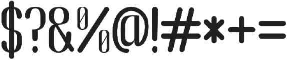 Adrena otf (400) Font OTHER CHARS