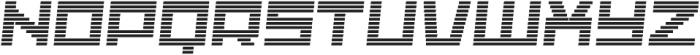 Adriana Hatch-Italic otf (400) Font UPPERCASE