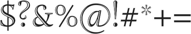 Adriane Lux Regular otf (400) Font OTHER CHARS