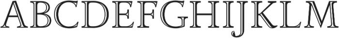 Adriane Lux Regular otf (400) Font UPPERCASE