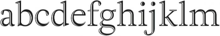Adriane Lux Regular otf (400) Font LOWERCASE