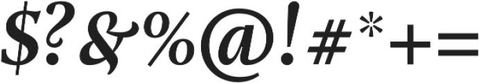 Adriane Text Bold Italic otf (700) Font OTHER CHARS