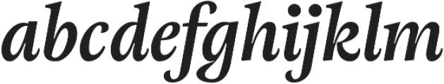 Adriane Text Bold Italic otf (700) Font LOWERCASE