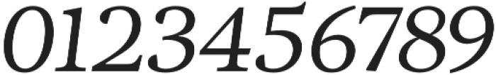 Adriane Text Italic otf (400) Font OTHER CHARS