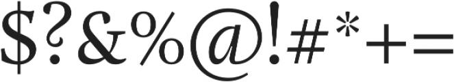 Adriane Text Regular otf (400) Font OTHER CHARS